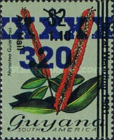 [Various Stamps Surcharged, Typ WB4]