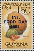[International Food Day - Issue of 1982 Surcharged 1, Typ WS]