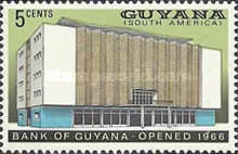 [Opening of Bank of Guyana, Typ X]
