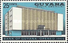 [Opening of Bank of Guyana, type X1]