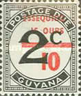 [Essequibo is Ours - Postage Due Stamps Surcharged, Typ XAA]