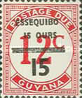 [Essequibo is Ours - Postage Due Stamps Surcharged, Typ XAB]