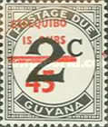 [Essequibo is Ours - Postage Due Stamps Surcharged, Typ XAD]