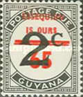 [Essequibo is Ours - Postage Due Stamps Surcharged, Typ XAF]