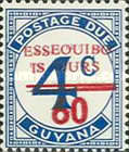 [Essequibo is Ours - Postage Due Stamps Surcharged, Serif Surcharge, Typ XAM]