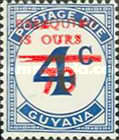 [Essequibo is Ours - Postage Due Stamps Surcharged, Serif Surcharge, Typ XAO]