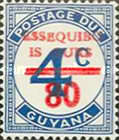 [Essequibo is Ours - Postage Due Stamps Surcharged, Serif Surcharge, Typ XAP]