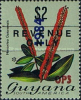 [Previous Stamps Overprinted, Typ XG2]