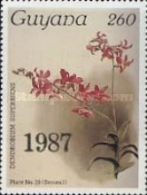[Orchids - Surcharged & Overprinted