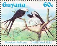 [Christmas - Swallow-tailed Kites, Typ XR]