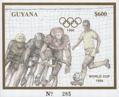 [Olympic Games - Atlanta '96, USA - Cycling and Football, Typ YXC]