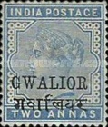 [Queen Victoria, 1819-1901 - India Postage Stamps Overprinted in Black - Devanagari Overprint 13-14mm Long, Typ B20]