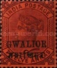 [Queen Victoria, 1819-1901 - India Postage Stamps Overprinted in Black - Devanagari Overprint 13-14mm Long, Typ B22]