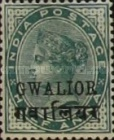 [Queen Victoria, 1819-1901 - India Postage Stamps Overprinted in Black - Devanagari Overprint 15-15½mm Long, Typ B24]