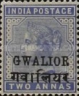 [Queen Victoria, 1819-1901 - India Postage Stamps Overprinted in Black - Devanagari Overprint 15-15½mm Long, Typ B26]