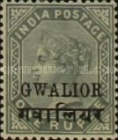 [Queen Victoria, 1819-1901 - India Postage Stamps Overprinted in Black - Devanagari Overprint 15-15½mm Long, Typ B29]