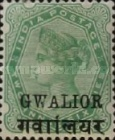 [Queen Victoria, 1819-1901 - India Postage Stamps Overprinted in Black - Devanagari Overprint 15-15½mm Long, Typ B30]