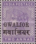 [Queen Victoria, 1819-1901 - India Postage Stamps Overprinted - Devanagari Overprint 15-15½mm Long, type B39]