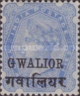 [Queen Victoria, 1819-1901 - India Postage Stamps Overprinted - Devanagari Overprint 15-15½mm Long, type B40]