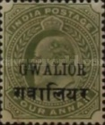 [King Edward VII, 1841-1910 - India Postage Stamps Overprinted in Black -