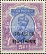 [King George V, 1865-1936 - India Postage Stamps Overprinted, type D11]