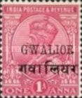 [King George V, 1865-1936 - India Postage Stamps Overprinted, type D2]