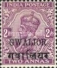 [King George V, 1865-1936 - India Postage Stamps Overprinted, type D3]