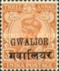 [King George V, 1865-1936 - India Postage Stamps Overprinted, type D4]