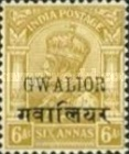 [King George V, 1865-1936 - India Postage Stamps Overprinted, type D6]