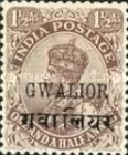[King George V, 1865-1936 - India Postage Stamps Overprinted, Typ F1]
