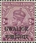 [King George V, 1865-1936 - India Postage Stamps Overprinted - Different Watermark, Typ F10]