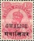 [King George V, 1865-1936 - India Postage Stamps Overprinted, Typ F2]