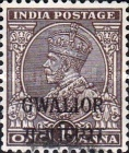 [King George V, 1865-1936 - India Postage Stamps of 1932-1934 Overprinted, type F22]