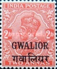 [King George V, 1865-1936 - India Postage Stamps of 1932-1934 Overprinted, Typ F24]
