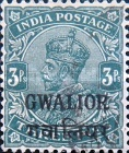 [King George V, 1865-1936 - India Postage Stamps Overprinted - Different Watermark, Typ F6]