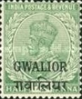 [King George V, 1865-1936 - India Postage Stamps Overprinted - Different Watermark, Typ F7]