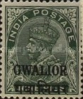 [King George V, 1865-1936 - India Postage Stamps Overprinted - Different Watermark, Typ F8]