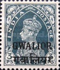 [King George VI, 1895-1952 - India Postage Stamps Overprinted, type G]