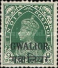 [King George VI, 1895-1952 - India Postage Stamps Overprinted, type G2]