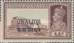 [King George VI, 1895-1952 - India Postage Stamps Overprinted, type G5]