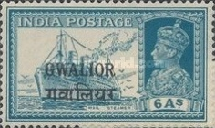 [King George VI, 1895-1952 - India Postage Stamps Overprinted, Typ G6]