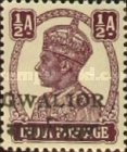 [King George VI, 1895-1952 - India Postage Stamps Overprinted Locally, Typ I1]