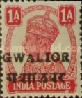 [King George VI, 1895-1952 - India Postage Stamps Overprinted Locally, Typ I2]