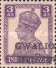 [King George VI, 1895-1952 - India Postage Stamps Overprinted Locally, Typ I4]
