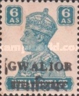 [King George VI, 1895-1952 - India Postage Stamps Overprinted Locally, Typ I6]
