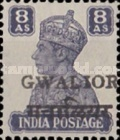 [King George VI, 1895-1952 - India Postage Stamps Overprinted Locally, Typ I7]