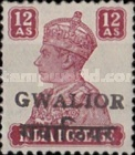 [King George VI, 1895-1952 - India Postage Stamps Overprinted Locally, Typ I8]
