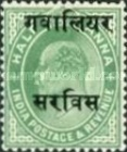 [King Edward VII, 1841-1910 - India Postage Stamps Overprinted - 10mm between Overprint, type B14]