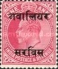 [King Edward VII, 1841-1910 - India Postage Stamps Overprinted - 10mm between Overprint, type B15]
