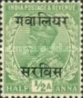 [King George V, 1865-1936 - India Postage Stamps Overprinted - 10mm between Overprint, type C1]